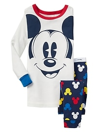 babyGap &#124 Disney Baby Mickey Mouse sleep set