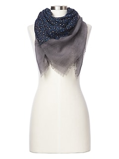 Mix-print scarf