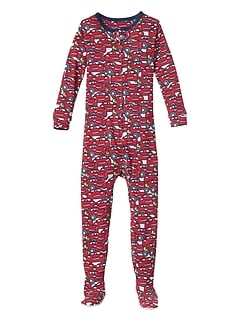 babyGap &#124 Disney Baby Cars sleep one-piece