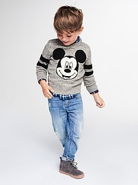 babyGap &#124 Disney Baby Mickey Mouse intarsia sweater