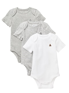 Baby Short-sleeve bodysuit (3-pack)