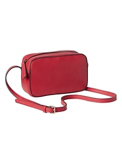 Crossbody Bag in Faux Leather