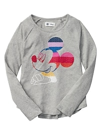 GapKids &#124 Disney Mickey Mouse long-sleeve tee