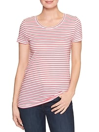 Favorite stripe crewneck tee