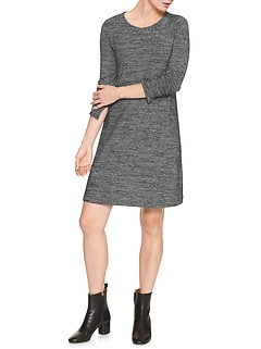 Softspun long-sleeve dress