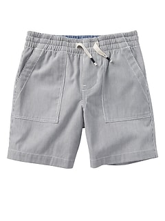 "4"" Pull-On Utility Shorts"