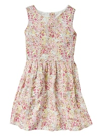 Embroidered Floral Dress
