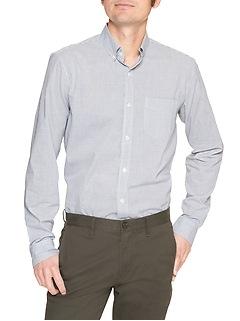 Standard Fit Shirt in Poplin
