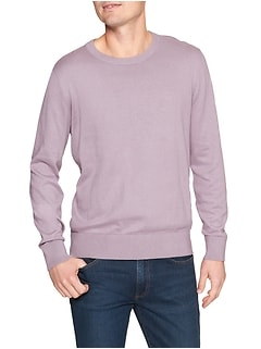 Crewneck Sweater in Cotton