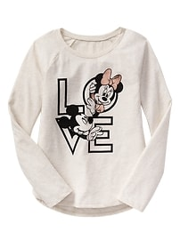 GapKids &#124 Disney long-sleeve graphic tee