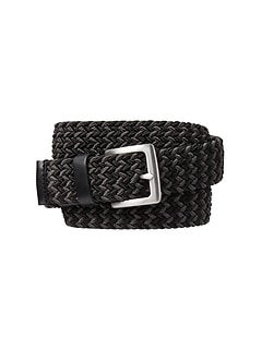 Multi Striped Woven Belt