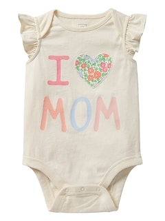 Parent Love Flutter Bodysuit