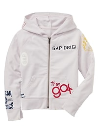 Gap Logo Remix Hoodie in French Terry