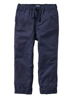 Toddler Cotton-canvas joggers
