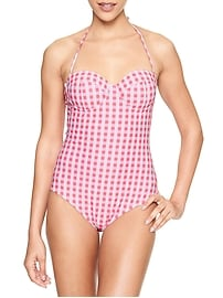 Molded Bandeau One Piece