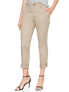 Girlfriend Khakis in Stretch Twill