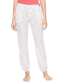 Print Sleep Jogger Pants