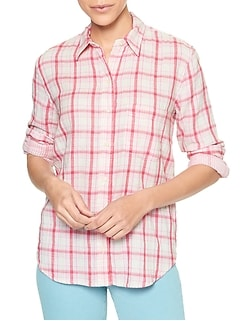 Print Boyfriend Shirt