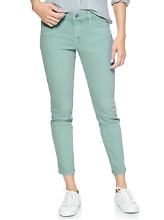 Mid Rise Jeggings Skimmer in Color