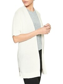 Open-Front Cardigan Sweater