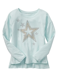 Embellished Long-Sleeve T-Shirt