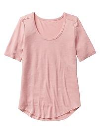 Maternity Softspun Short Sleeve Scoopneck T-Shirt