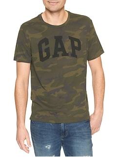 Camo Gap Logo T-Shirt