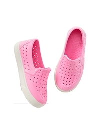 Rubber Slip-On Sneakers