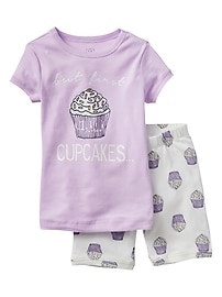 Cupcake Short Sleep Set