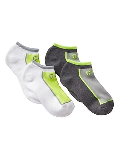 Coolmax&#169 Athletic Ultra Low Socks (2-Pack)