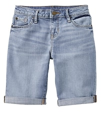 "8"" Denim Bermuda Shorts"