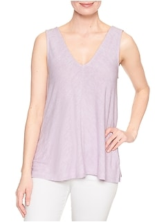 Softspun Swing V-Neck Tank Top