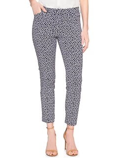 Print Slim City Pant in Bi-Stretch