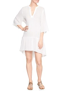 Ruffle Hem Cover-Up