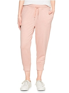 GapFit Cropped Joggers in Jersey