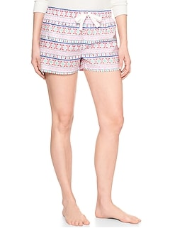 Print Sleep Shorts
