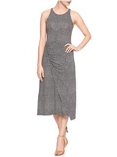 Sleeveless Dress in Rayon