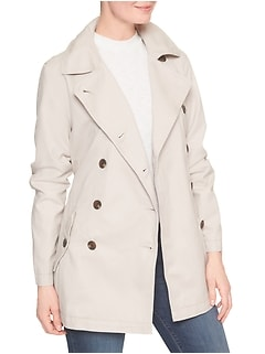 Classic Trench Coat in Twill