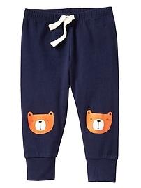 Graphic Cuffed Pants