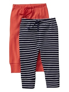 Favorite Stripe Pull-On Pants (2-Pack)