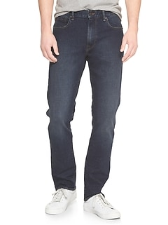 Slim Straight Darkwash Jeans
