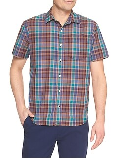 Madras Short-Sleeve Shirt