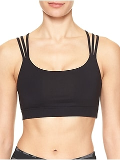 GapFit gFast medium impact multi-strap sports bra