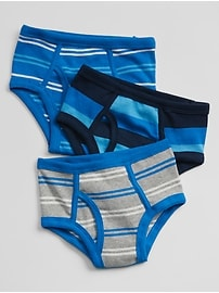 Stripe Underwear (3-Pack0