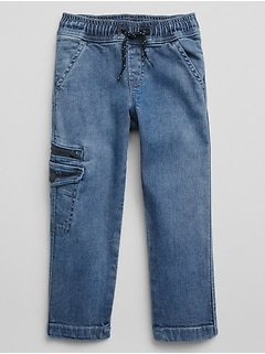 Toddler Superdenim Pull-On Slim Jeans with Defendo