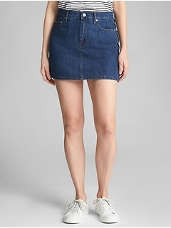 5-Pocket Denim Mini Skirt