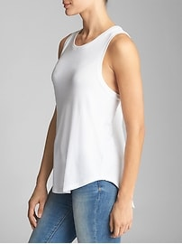 Softspun Twist-Back Tank