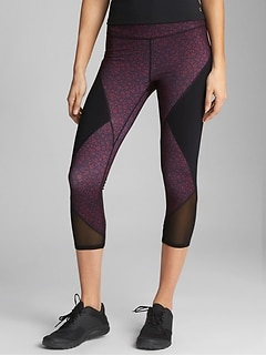 GapFit gSpeed Capri-Length Leggings
