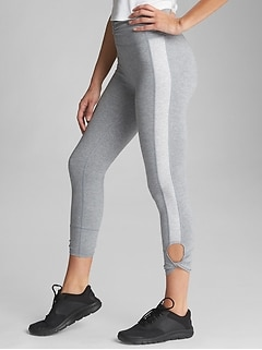GapFit High Rise Print 7/8 Leggings