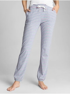 Print Sleep Jogger Pants